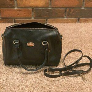 Black Coach Hand Bag/Crossbody